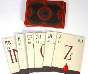 Spell Smashers wound cards: ING, K, EN, OR, IS, Z