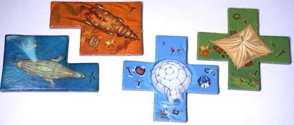Scarabya Player Pieces