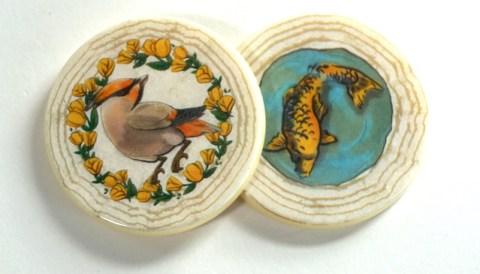Bird token and fish token