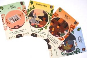 Tea Dragon Society: Season cards
