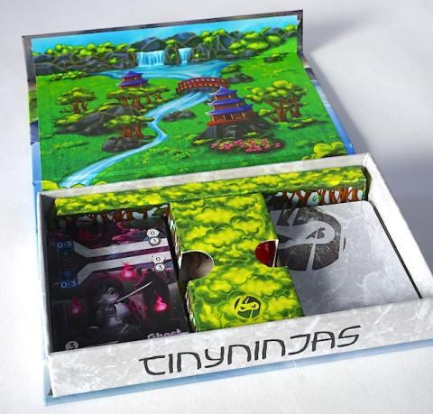 Tiny Ninjas open box
