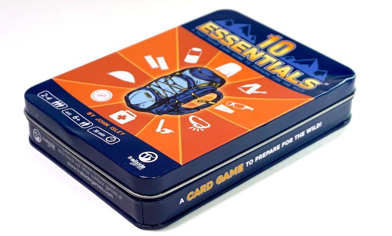 10 Essentials game tin