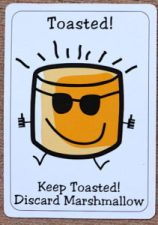 Toasted card and Roasted card