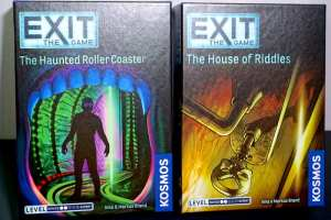 EXIT: The Haunted Roller Coaster, EXIT: The House of Riddles