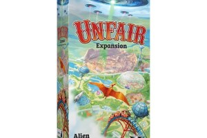 Unfair Expansion Alien - B-movie - Dinosaur - Western box
