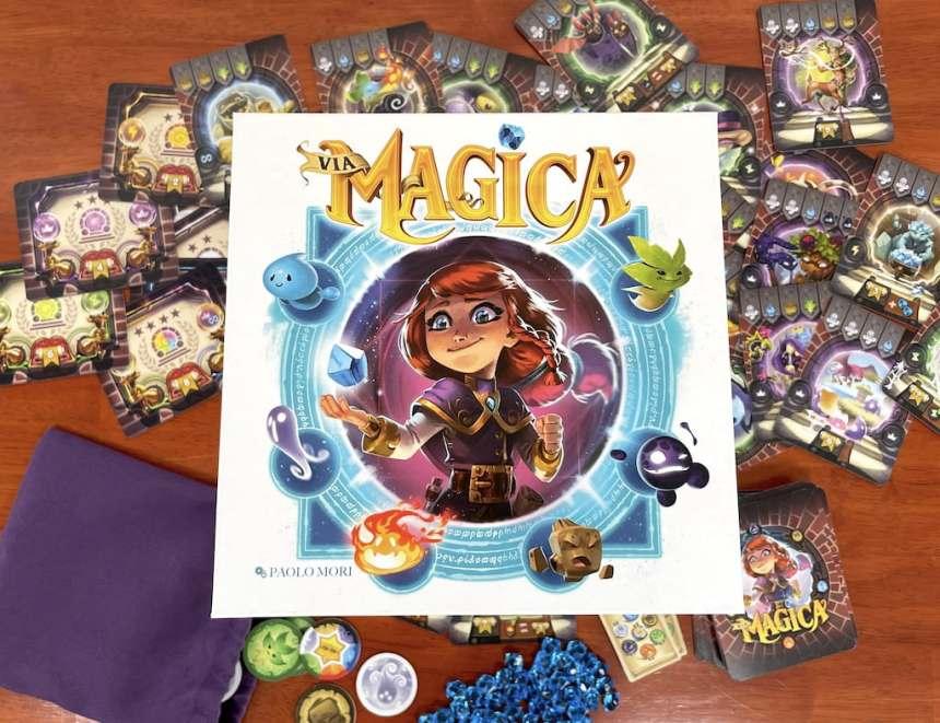 Via Magica board game