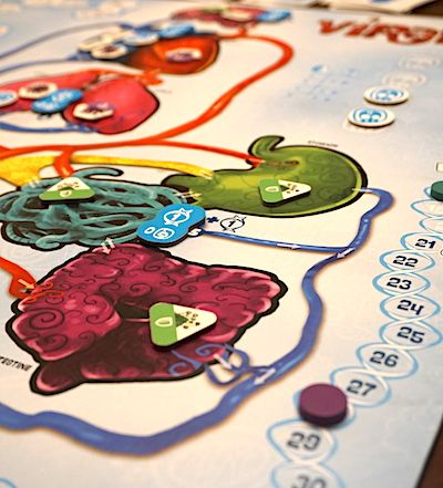 Viral board - end game