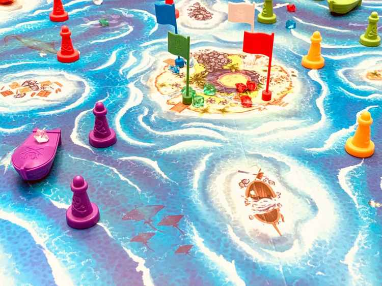 Bermuda Pirates game layout