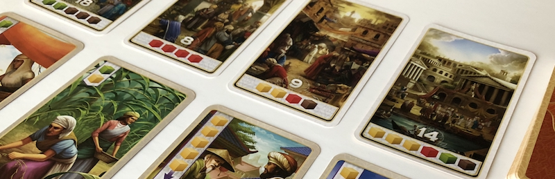 Century: Spice Road point cards