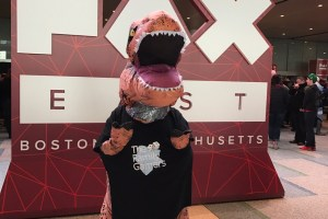 Family Gamers Dinosaur at PAX East