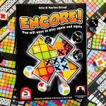 Encore Roll & Write game