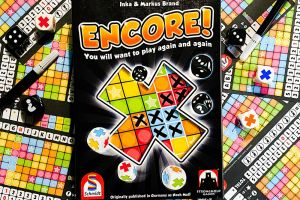 Encore Roll & Write game