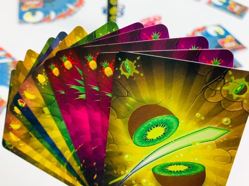 Your hand of cards for Fruit Ninja: Combo Party