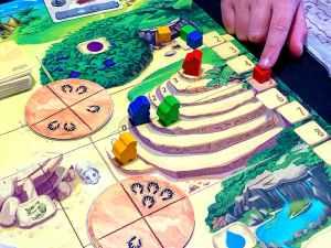 Honga game: Sacred steps