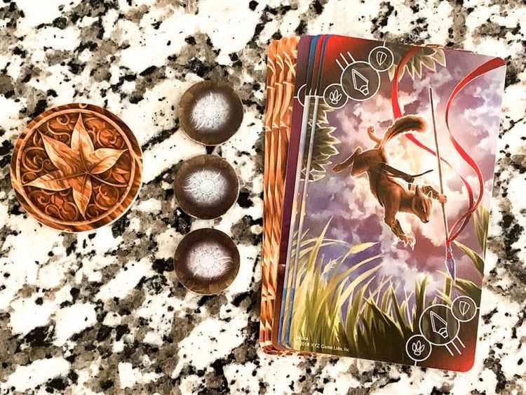 Leaf totem, 3 Sacred Stones
