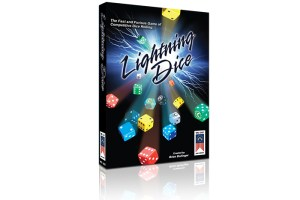 Lightning Dice game box