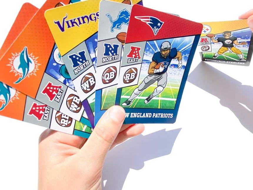 NFL Trade$ discard a player