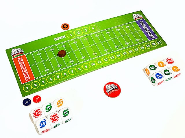 Sports Dice Football setup