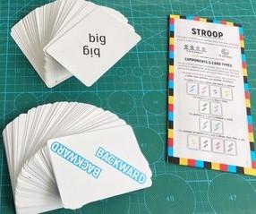 Stroop game