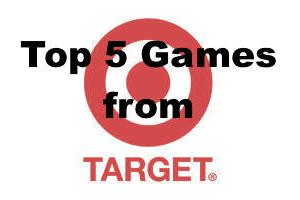 Top 5 Games From Target