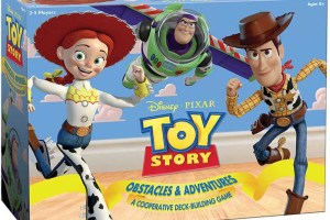 Toy Story Obstacles & Adventures deck-building game box