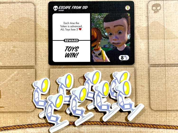 Toy Story Obstacles & Adventures - Hazard Card