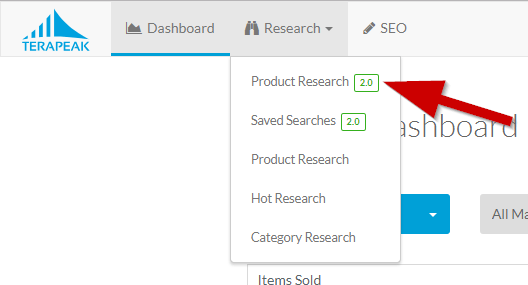 Ebay Marketplace Research Tool How To Use Terapeak Product Research 2 0