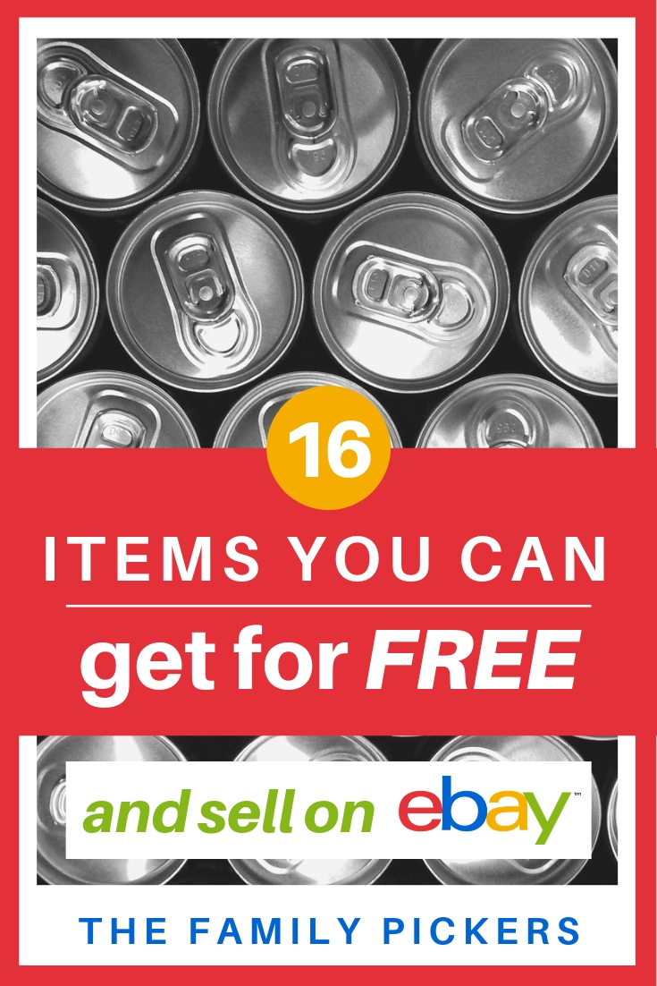 16 Best Things To Sell On Ebay That Are Free But You Usually Throw Away The Family Pickers