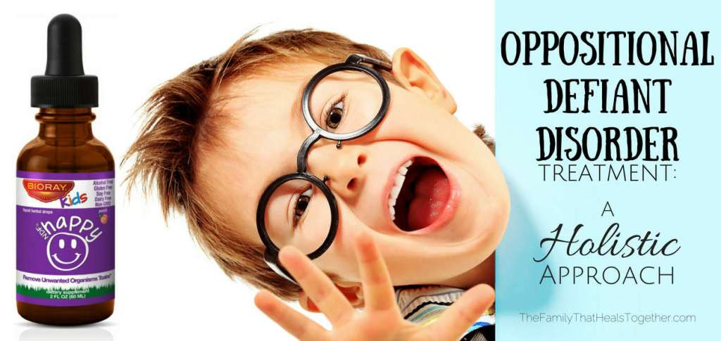 Oppositional Defiant Disorder Treatment A Holistic Approach