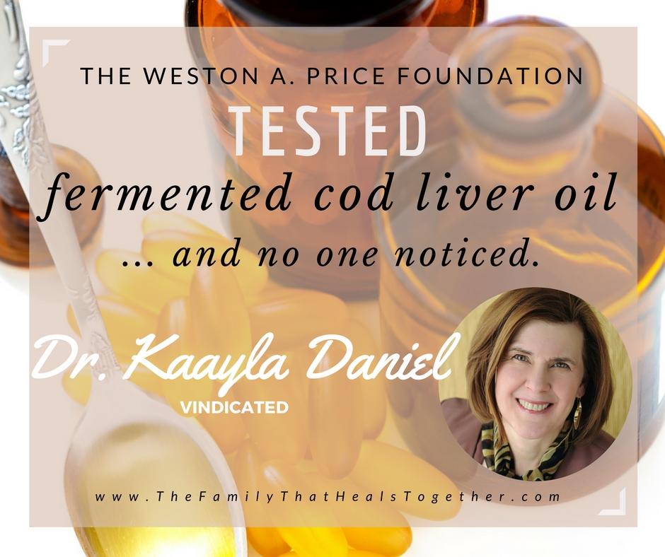 Fermented Cod Liver Oil Controversy