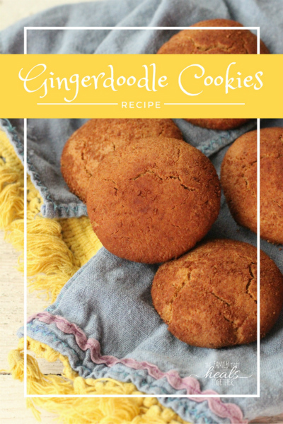 Gingerdoodles: The Healthy Holiday Cookie for GAPS, Paleo, and Primal Diets
