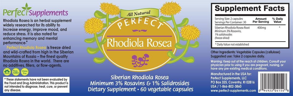 Rhodiola Rosea The Herb You Should Be Taking Every Day
