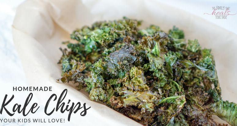 Homemade Kale Chips (Kids Love!)