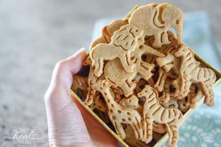 Animal Cracker Recipe for Paleo & GAPS Diet | The Family That Heals Together