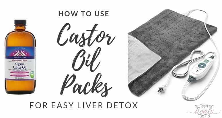How To Make Castor Oil Packs For An Easy Liver Detox