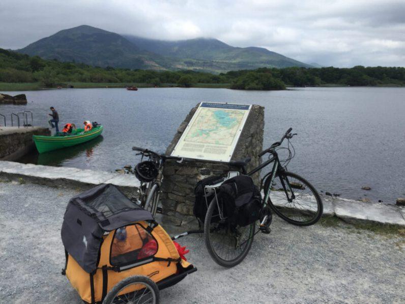 Bike trailer in Ireland