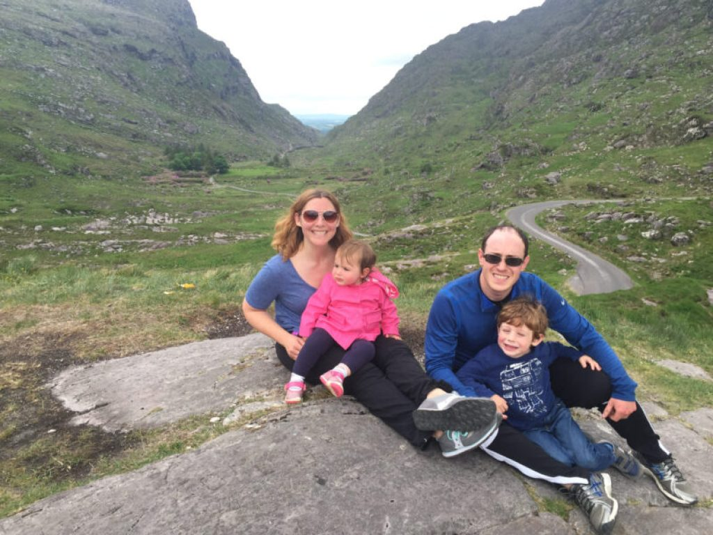 Gap of Dunloe with Kids