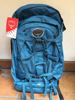Osprey Farpoint 55 S/M front picture