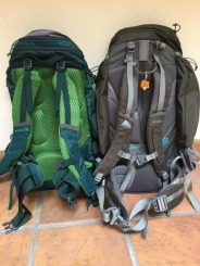 Kelty Redwing 44 and (older) Kelty Redwing 50 back