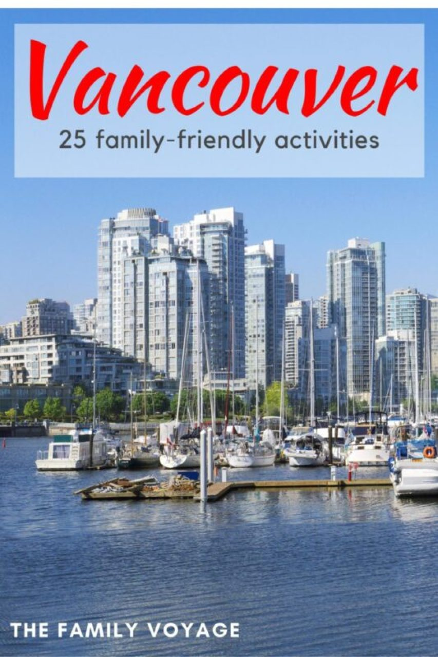 Check out the top family-friendly activities in Vancouver for your next trip to British Columbia with kids.