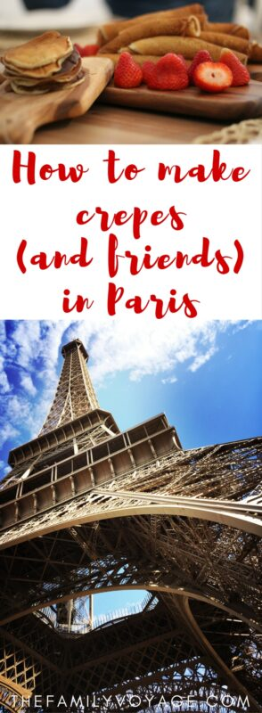 Click to learn how we got a behind-the-scenes look at how a profession French chef makes crepes during our family trip to Paris. It was our favorite Paris activity with kids! Find inspiration for your family to travel deeper and have off-the-beaten-path experiences.