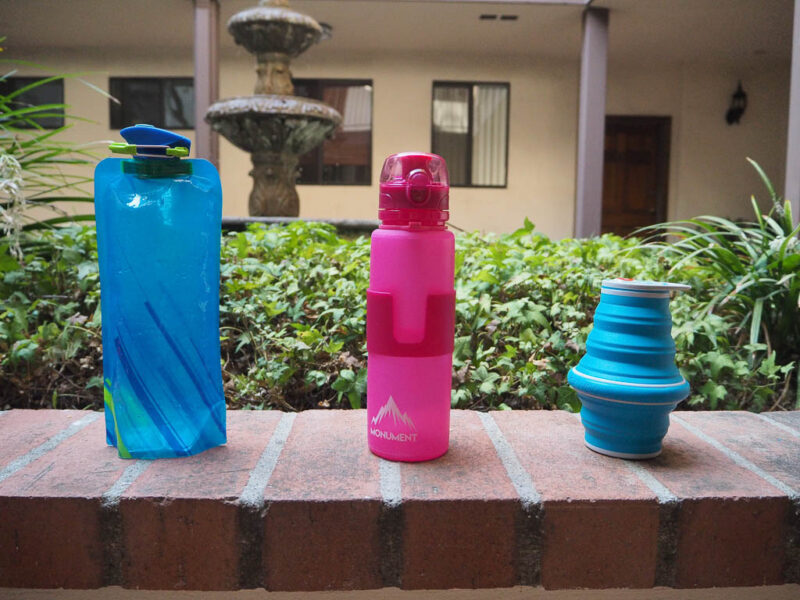 Best travel bottles showdown: Hands-on with foldable water bottle options - The Family Voyage