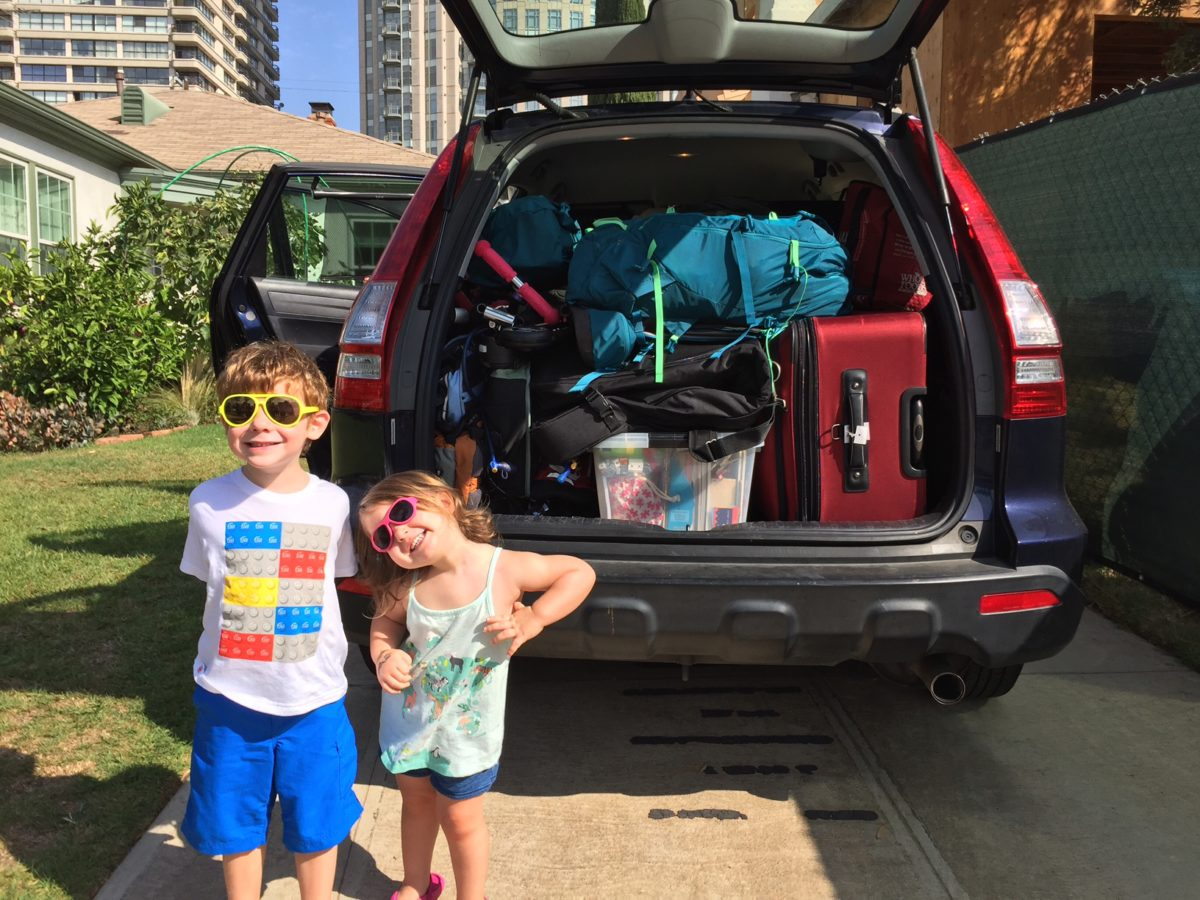 Road trip with toddler