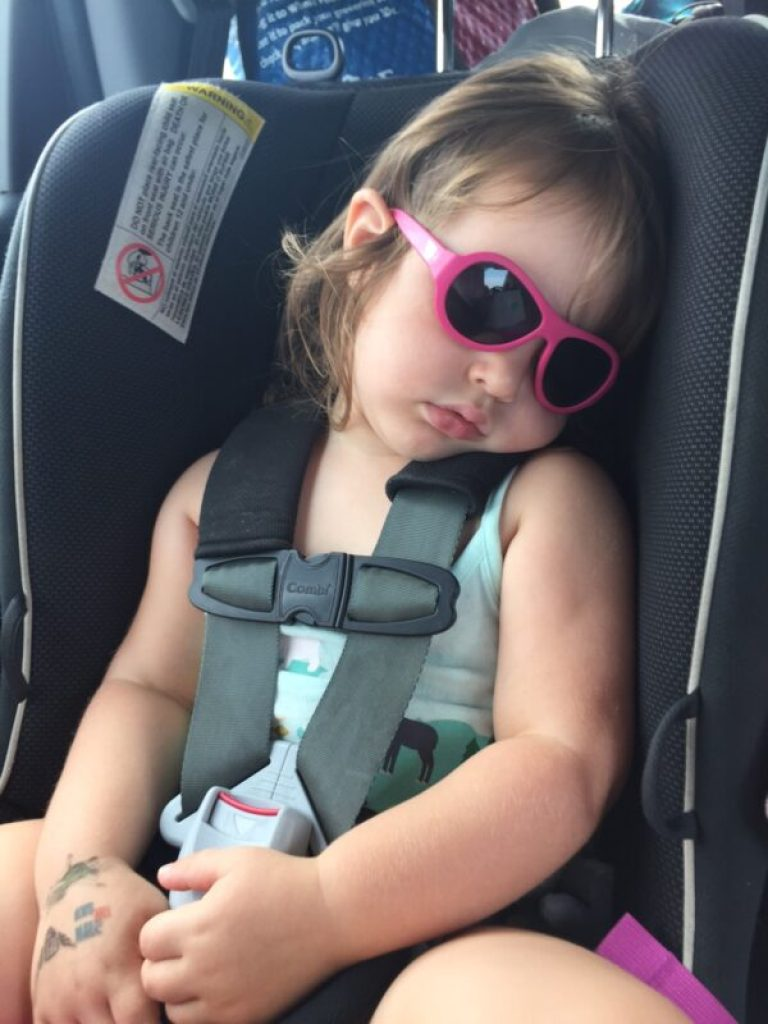 Car rides with toddlers