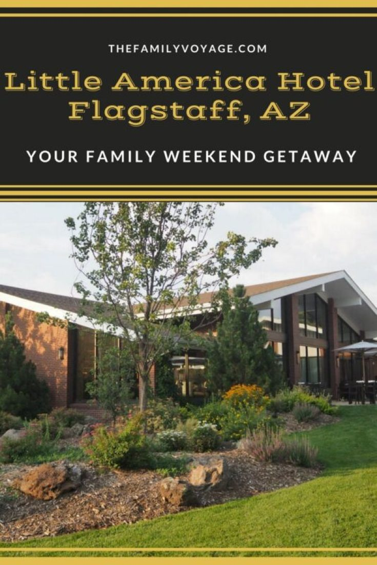 If you're looking for a great weekend getaway, head to Flagstaff Arizona. Click to find our review of Little America Hotel and our guide to where to eat and what to do. Things to do in Flagstaff, where to eat in Flagstaff, where to stay in Flagstaff. #Flagstaff #Arizona #travel #familytravel #family