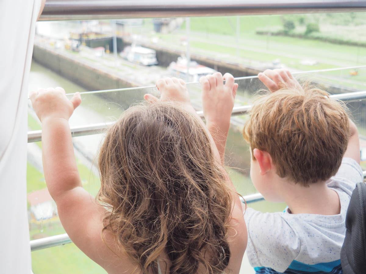 Panama city with kids
