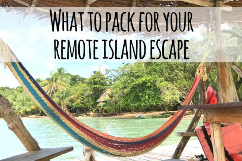 19 Essentials For Your Remote Island Tropical Vacation