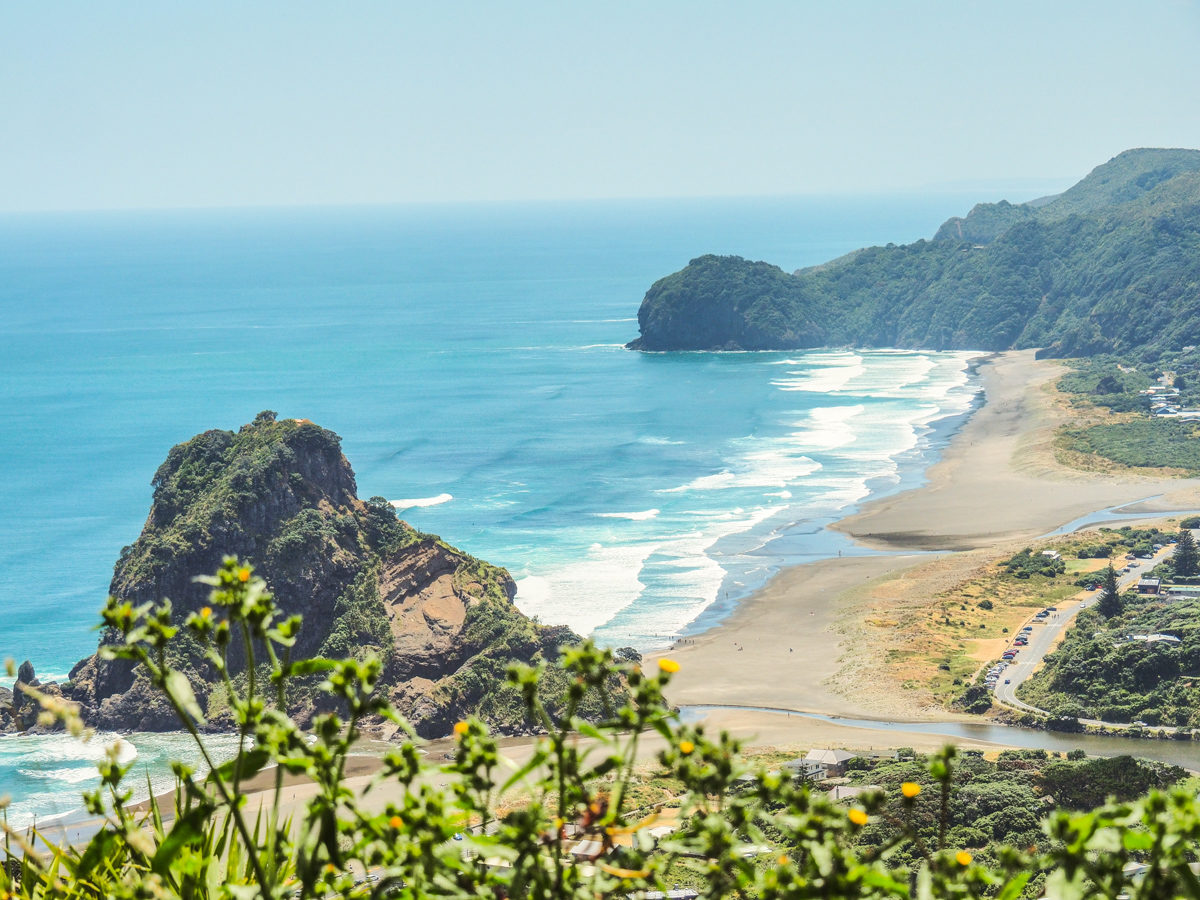 Piha Beach, North Island, New Zealand