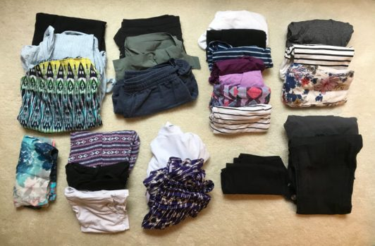 packing list for women