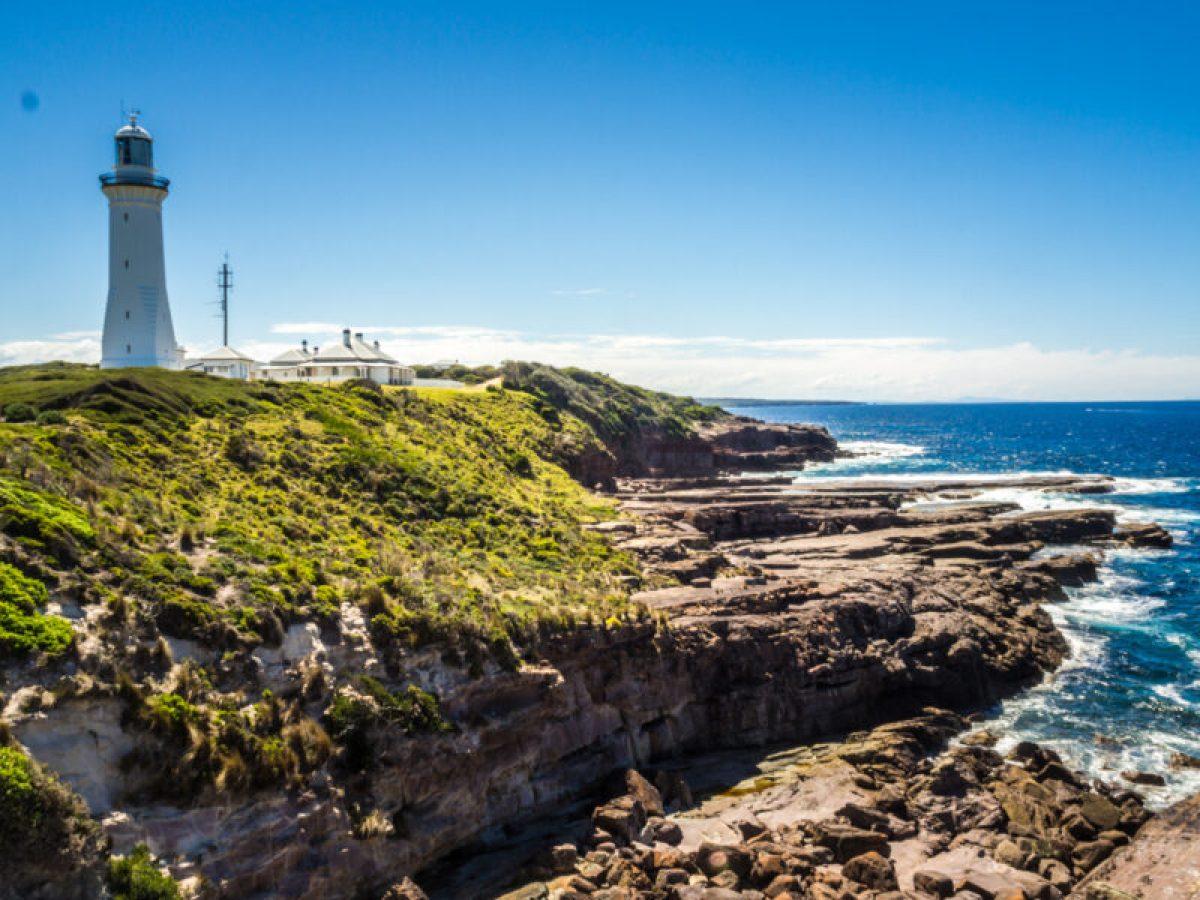 Green Cape Lighthouse, Ben Boyd National Park near Eden, Australia